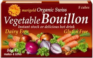Marigold Swiss Organic Bouillon Cubes (Red) 84gm-Health Tree Australia