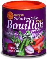 Marigold Swiss Vegan Bouillon -L/SaltYeastFree GlutenFree (Purple)150g-Health Tree Australia