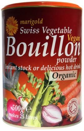 Marigold Swiss Bouillon Powder-Organic (Red) 500gm-Health Tree Australia