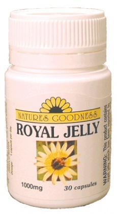 Natures Goodness Royal Jelly 1000mg 30 Caps-Health Tree Australia