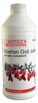 Natures Goodness Tibetan Goji Juice 1Lt-Health Tree Australia