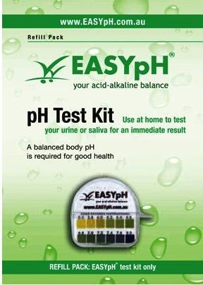 EASYpH Test Kit Refill-Health Tree Australia