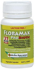 Medicines From Nature FloraMax Probiotic - 31 Billion Plus 60caps