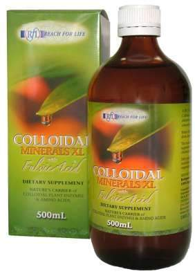 Reach For Life Colloidal Minerals Fulvic XL 500ml-Health Tree Australia