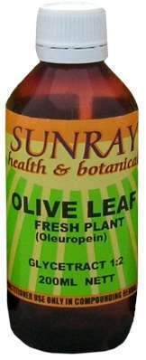 Sunray Olive Leaf Extract 200ml-Health Tree Australia