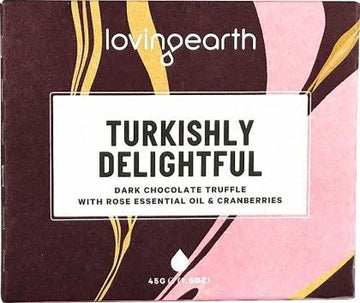 Loving Earth Organic Turkishly Delightful Chocolate Bar G/F 11x45g
