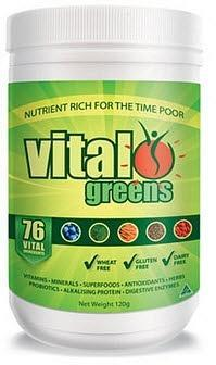 Vital Greens Total Daily Supplement 120g-Health Tree Australia