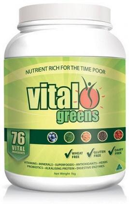Vital Greens Total Daily Supplement 1Kg-Health Tree Australia