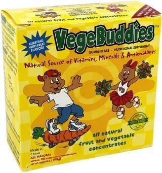 Vitarich Vege Buddies 180gm Box-Health Tree Australia