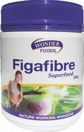 Wonderfoods FigaFibre 240gm-Health Tree Australia
