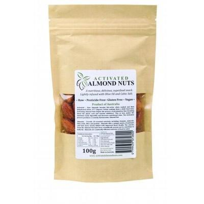 Raw Activated Almonds 100g - ACTIFOODS