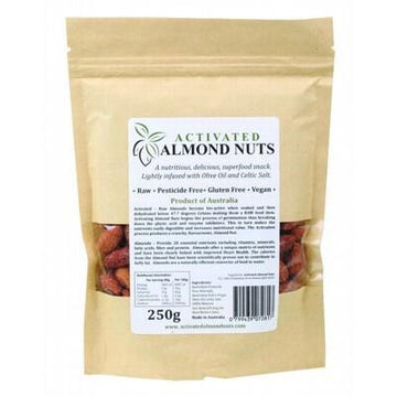 Raw Activated Almonds 250g