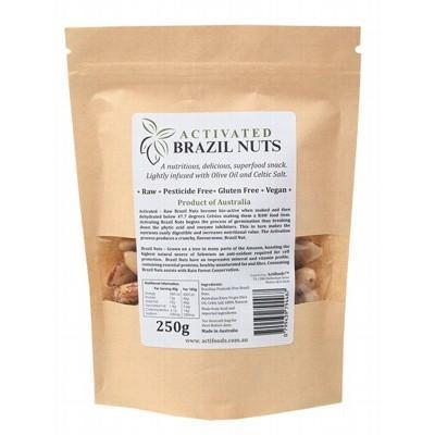 Activated Brazil Nuts 250g - ACTIFOODS