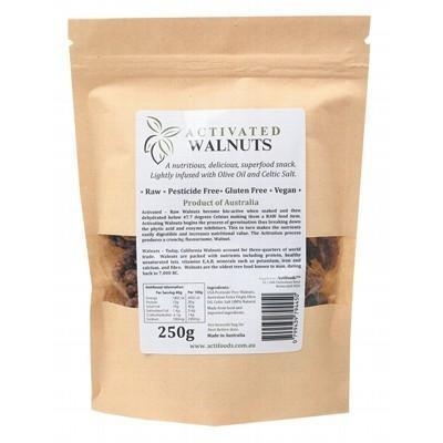 Raw Activated Walnuts 250g - ACTIFOODS