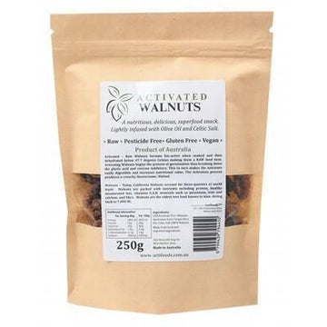 Raw Activated Walnuts 250g