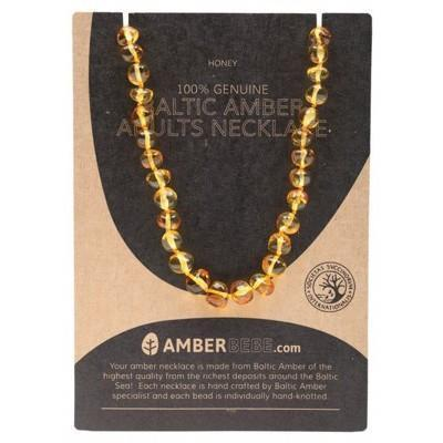 Honey Adult Necklace 44cm - AMBERBEBE