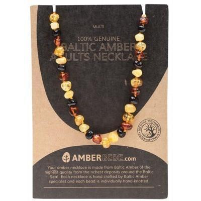 Multi Adult Necklace 44cm - AMBERBEBE