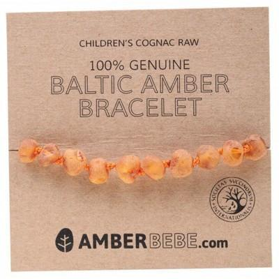 Raw Child Bracelet 14cm - AMBERBEBE