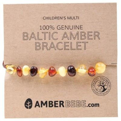 Multi Child Bracelet 14cm - AMBERBEBE