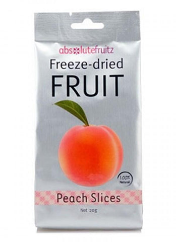 Absolute Fruitz Freeze Dried Peach 20g