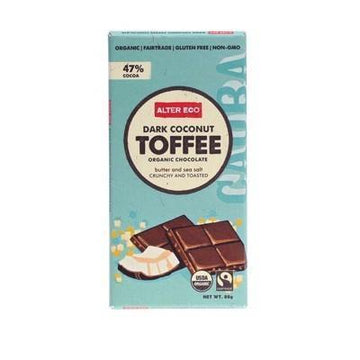 Dark Coconut Toffee 80g