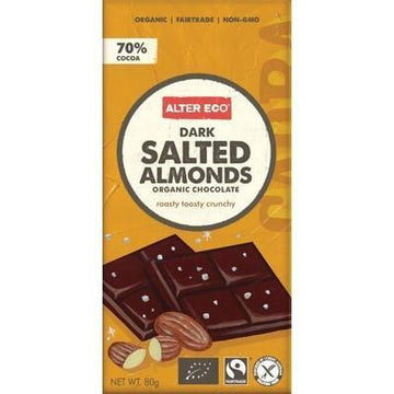 Salted Almonds 80g