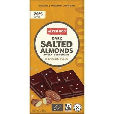 Salted Almonds 80g - ALTER ECO