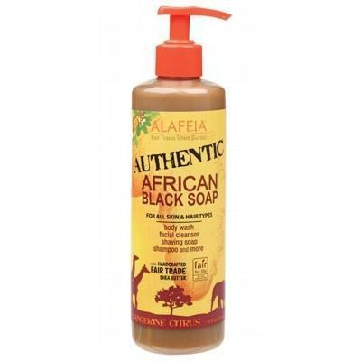 Citrus Black Soap 475ml - ALAFFIA
