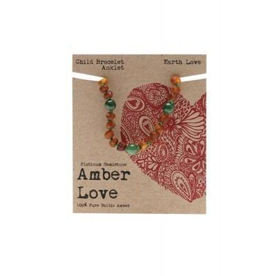 Amber Earth Love 14cm - AMBER LOVE