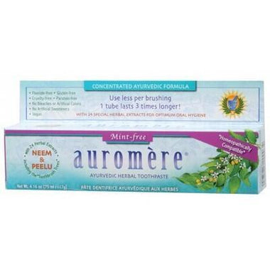 Mint Free Toothpaste 117g - AUROMERE