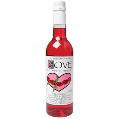 Rosepetal & Lime 750ml - ALCHEMY CORDIALS