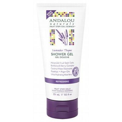 Shower Gel - Refreshing 251ml - ANDALOU NATURALS