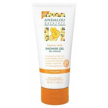 Shower Gel - Vitalizing 251ml - ANDALOU NATURALS