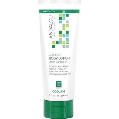 Body Lotion Aloe Mint Cooling 236ml - ANDALOU NATURALS
