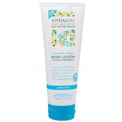 Clementine Body Lotion Energizing 236ml - ANDALOU NATURALS