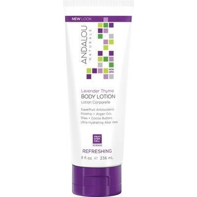 Lavender Body Lotion Refreshing 236ml - ANDALOU NATURALS