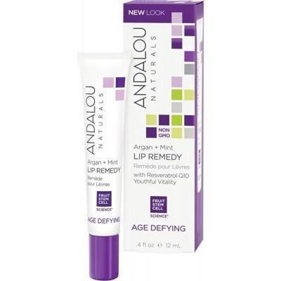Argan + Mint Lip Remedy 12ml - ANDALOU NATURALS