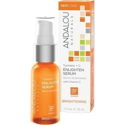 Turmeric & C Enlighten Serum 32ml - ANDALOU NATURALS