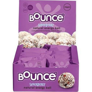 Super Berry Energy Balls 12x42g - BOUNCE
