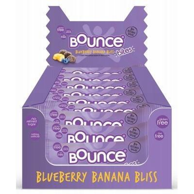 Bites Blueberry Banana Bliss 24x30g - BOUNCE