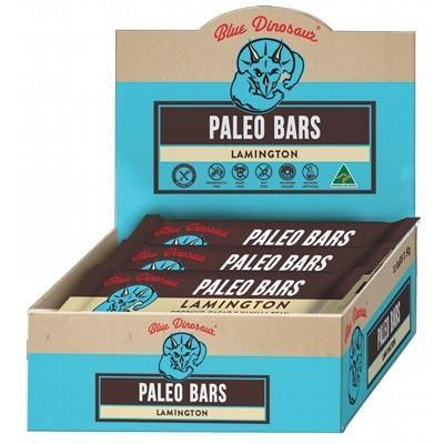 Lamington Paleo Bars 12x45g - BLUE DINOSAUR