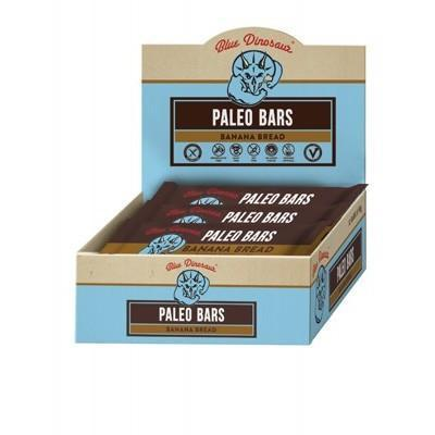 Banana Bread Bar 12x45g - BLUE DINOSAUR