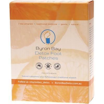 Foot Patches Box of 14 - BYRON BAY DETOX