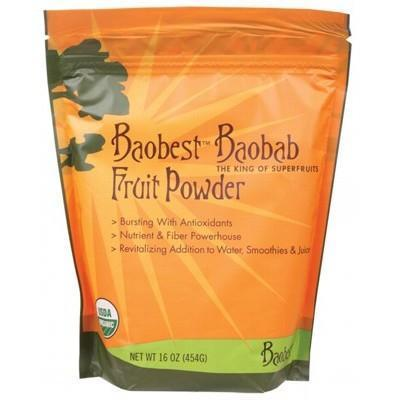 Baobab Fruit Powder 454g - BAOBEST