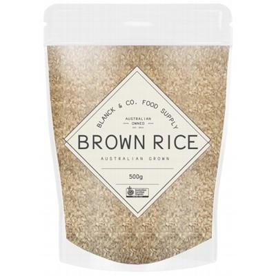 Brown Rice 500g - BLANCK AND CO FOOD SUPPLY