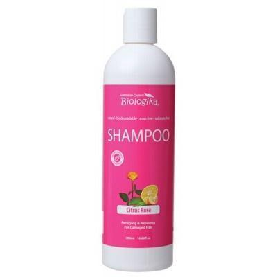 Citrus Rose Shampoo 500ml - BIOLOGIKA