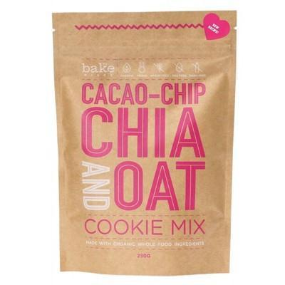 Cookie Mix Cacao-Chip Chia & Oat 250g - BAKE MIXES