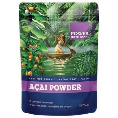 Acai Berry Powder 50g - POWER SUPER FOODS