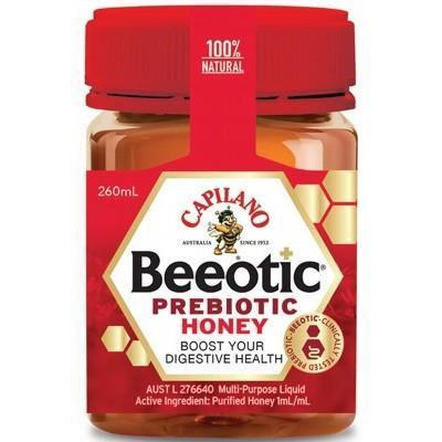 Beeotic Prebiotic Honey 260ml - CAPILANO