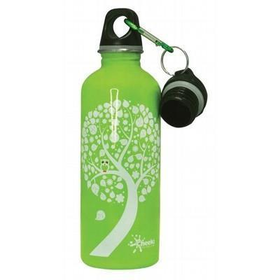 Green Owls Bottle Stainless Steel 500ml - CHEEKI